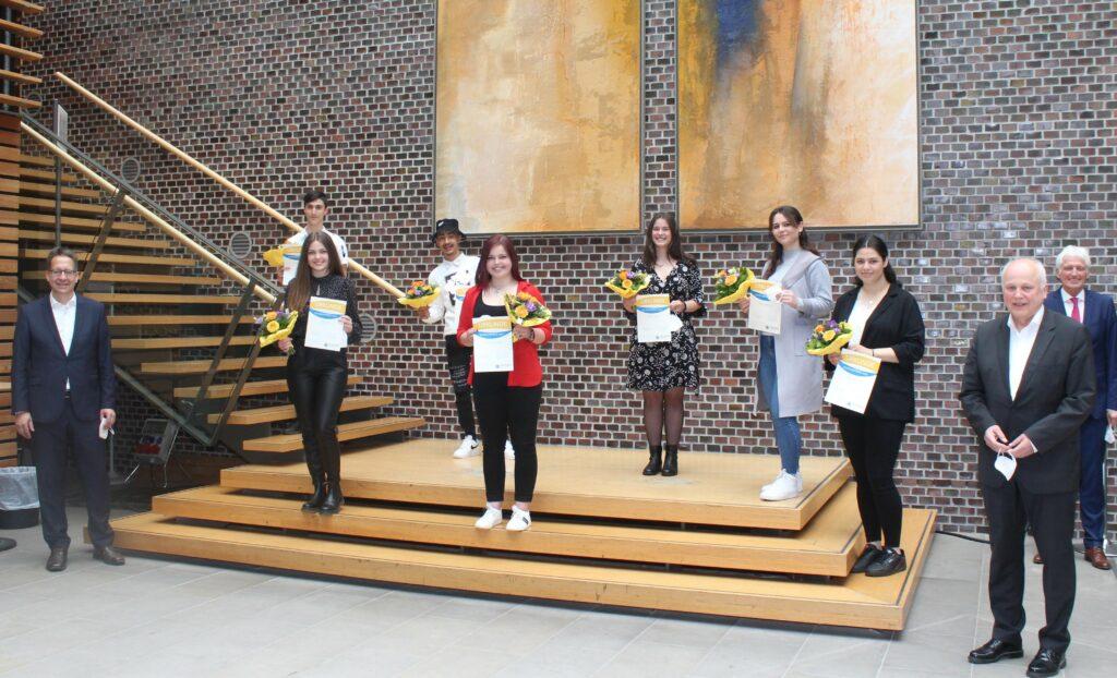 Freundeskreis hat den 18. Schülerpreis verliehen