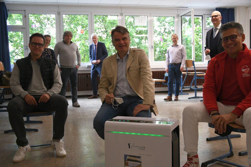 Sponsoren und Förderverein investieren 16.000 Euro in Lüftungsanlagen
