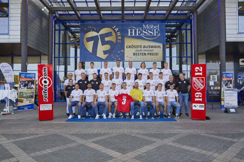 Aktionstag: TSV Havelse ist zu Gast bei Möbel Hesse