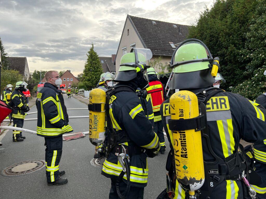 Feuerwehr-Übung Zug West