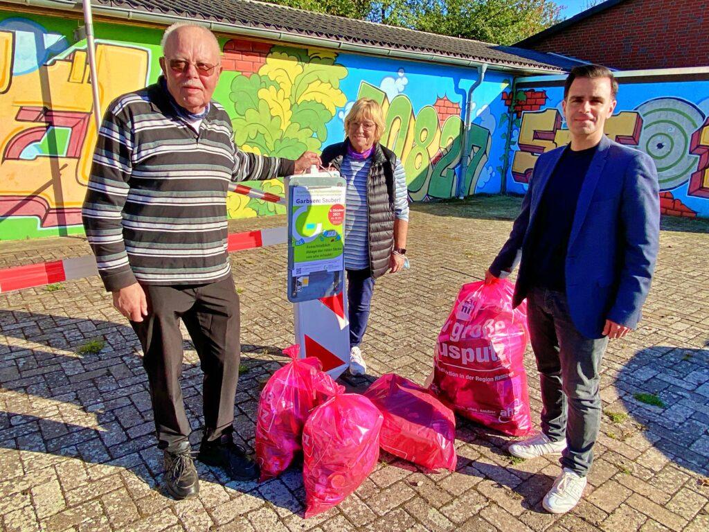 Künftiger Bürgermeister startet Müllsammelaktion